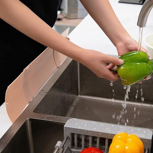 حاجز للمطبخ لمنع تسرب المياه على الارض من المجلى