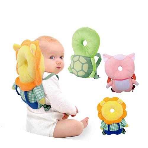 قطعة لحماية رأس الطفل من السقوط باشكال حيوانات مختلفة