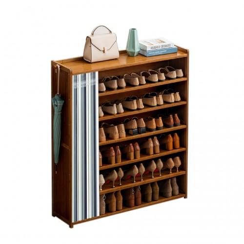 خزانة احذية مع ستارة قماشية موديل 333-14
