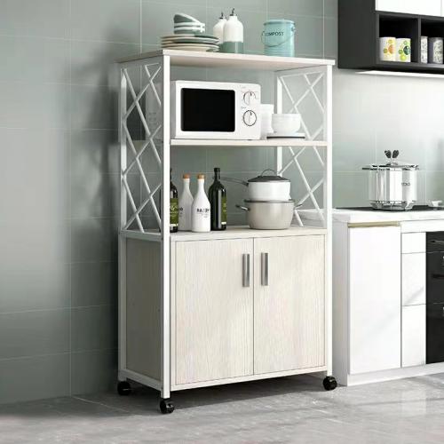 خزانة مطبخ تحتوي على دفتين ورفين لتنظيم اغراض المطبخ موديل 333-16