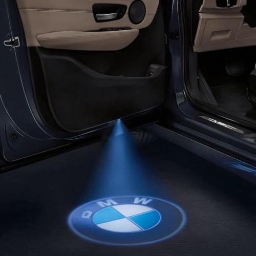 جهاز اضاءة لشعار السيارة يُثبت على الباب ( يشمل قطعتين لبابين )
