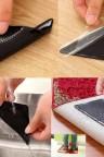 قطع لاصقة مطاطية لتثبيت السجاد مكونة من أربعة قطع
