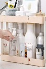 رفين لاغراض المطبخ مصنوع من البلاستيك موديل 957-3