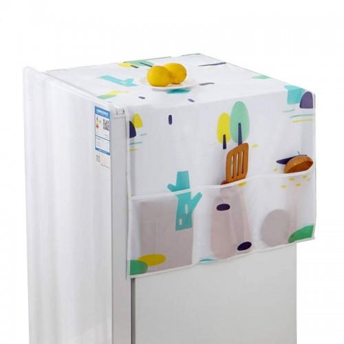 منظم قماشي لاغراض المطبلخ يتم وضعه على الثلاجة