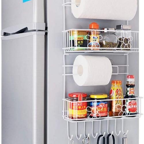 رف جانبي معدني للثلاجة موديل 785-2