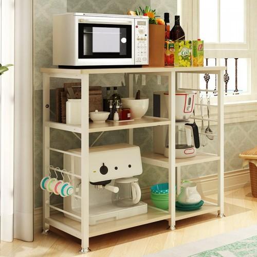 رفوف للمطبخ موزعة على الجانبين لاجهزة واغراض المطبخ موديل BD-2-1