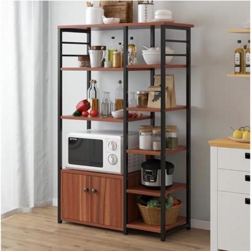 خزانة للمطبخ مع ارفف ومكان لاجهزة المنزل الصغيره موديل bd 2-6