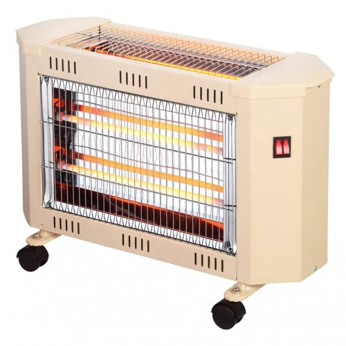 مدفأة كهربائية ماركة Mega-TCQH89C بـ3 أعمدة وبتصميم عصري وأنيق