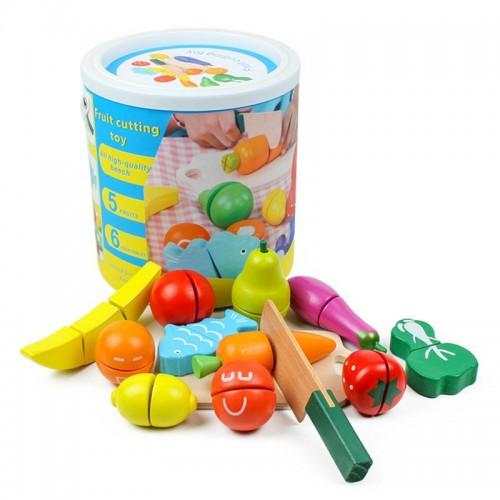 لعبة تقطيع الفاكهة للاطفال