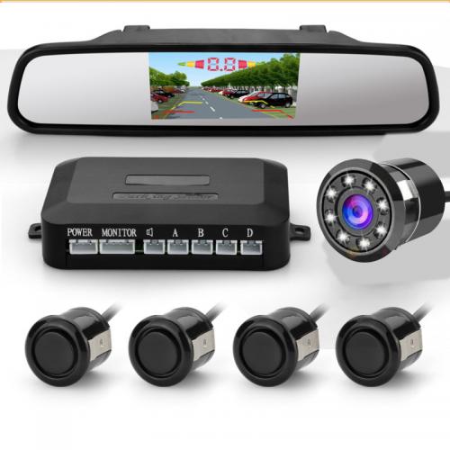 كاميرا خلفية و أمامية للسيارة مع طقم حساسات