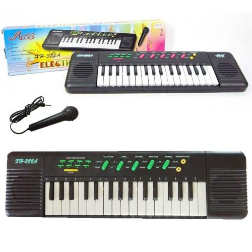 بيانو متعدد الوظائف مع ميكروفون للأطفال