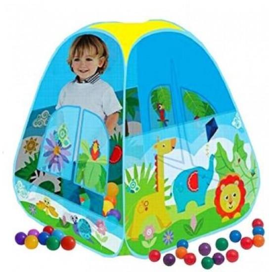 خيمة لعب للاطفال تحتوي على 40 طابة