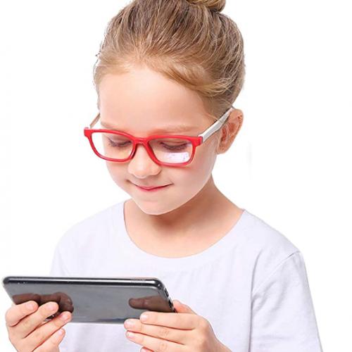 نظارة zilead  المقاومة للكسر للوقاية من اشعة الهاتف للأطفال