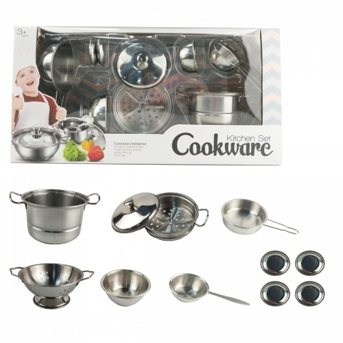 مجموعة أدوات المطبخ للأطفال مصنوعة من الستانلس ستيل
