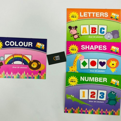 Early Learning Sticker BookSet