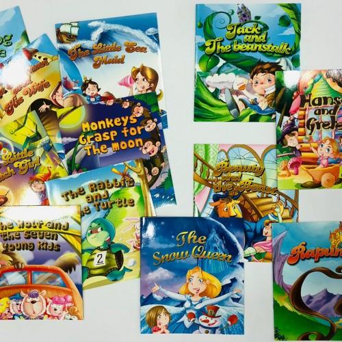 سلسلة قصص thumbelina باللغة الانجيزية