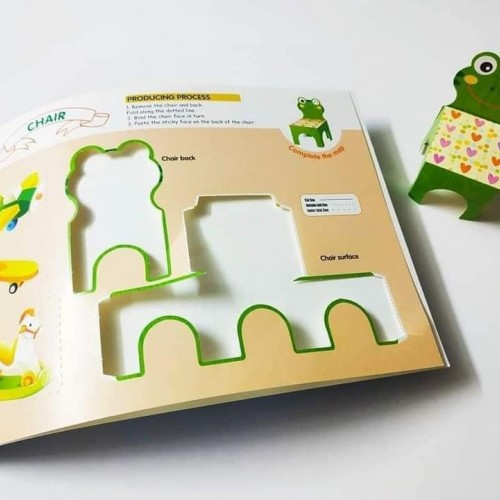 puzzle early education stereo handwork