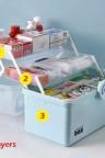 صندوق المكياج متعدد الإستعمال