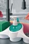 منظم صابون واسفنجة الجلي