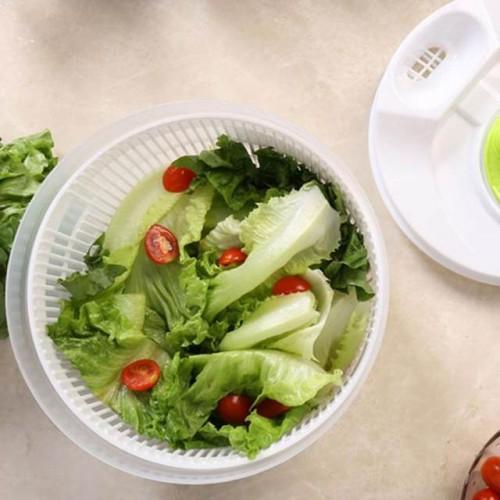 وعاء لغسل وتشفيف الخضراوات